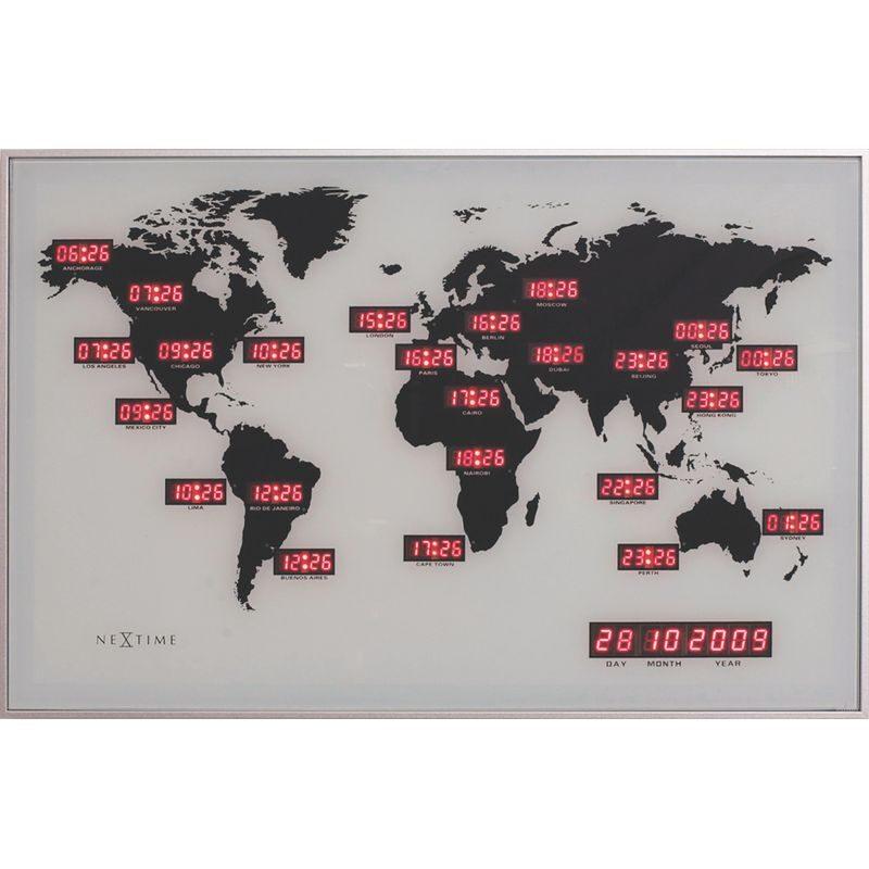 "Zegar 2897 ""World Time Digit"""