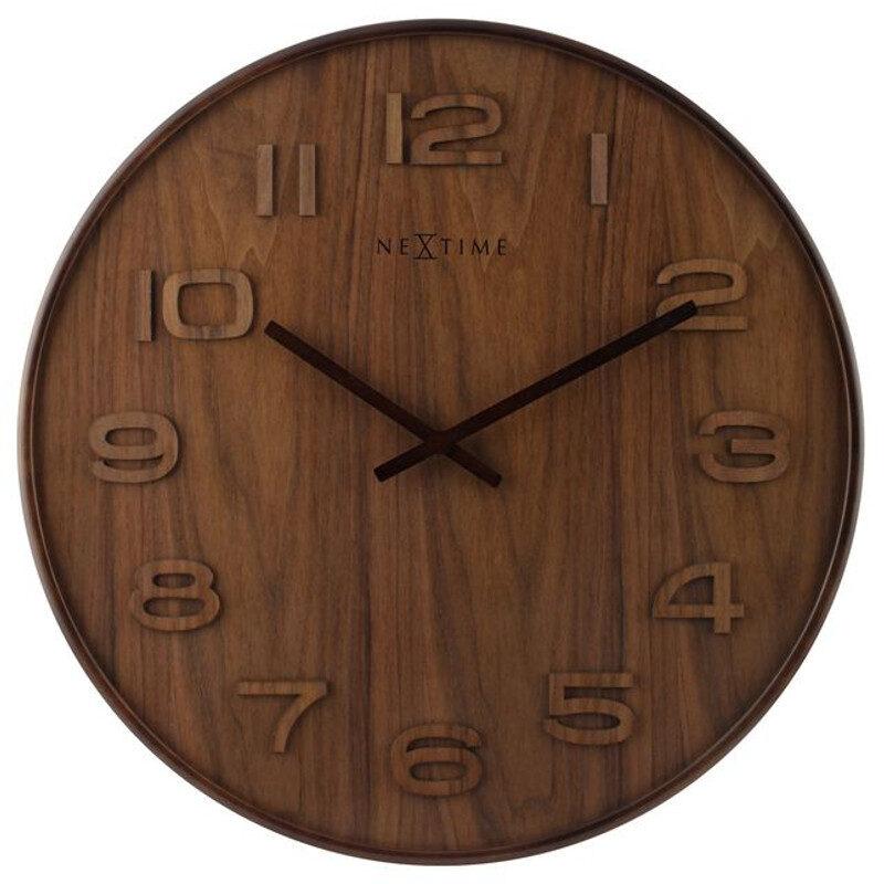 "Zegar 3095 BR ""Wood Wood Big"""