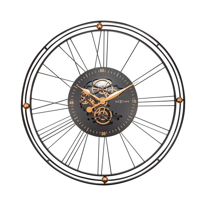 "Zegar 3260 GO ""Roman Gear Clock XXL"""